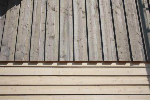 Fassadengestaltung holz  Fassadengestaltung mit Holz sorgt für eine natürliche Wärme